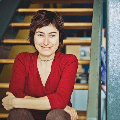 Photo d'Ariane Gagnon-Légaré, leader du projet CO-PO, cohorte 2018-2019 de l'Incubateur civique