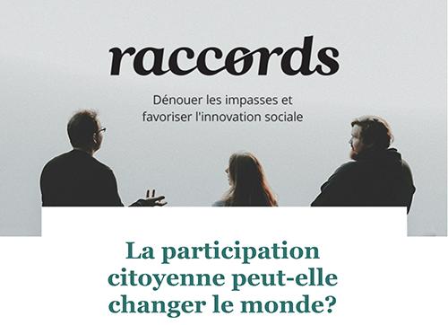 La participation citoyenne peut-elle changer le monde?