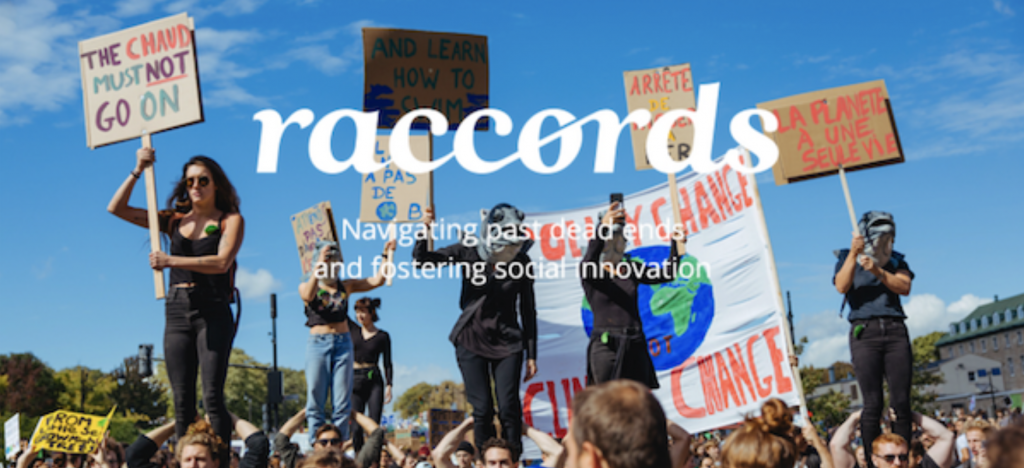How can people-powered campaigns accelerate social transformation? - Raccords#04 - Maison de l'innovation sociale