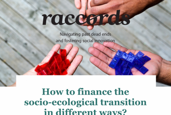 How to finance the socio-ecological transition in different ways?