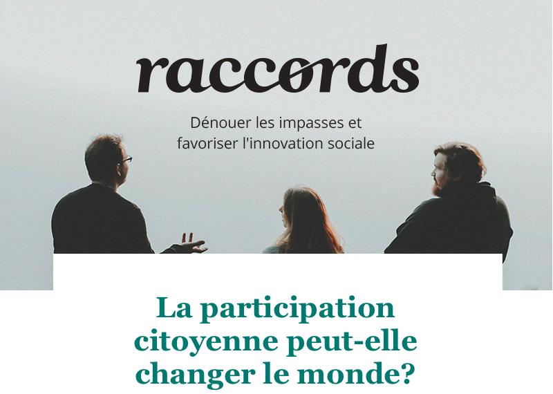 La participation citoyenne peut-elle changer le monde ?
