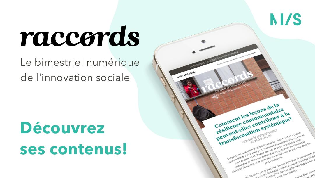 Raccords05, mai 2020, Maison de l'innovation sociale