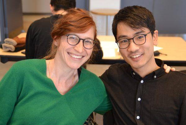 Estelle Le Roux Joky et Pascal Huynh, leaders de projets de l'Incubateur civique de la MIS