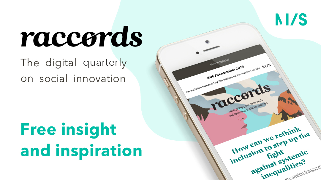Raccords, the digital quarterly on social innovation