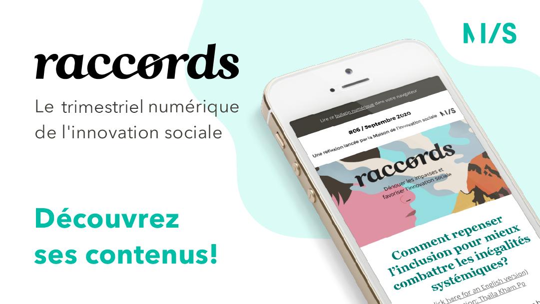 Raccords, le bulletin numérique de l'innovation sociale