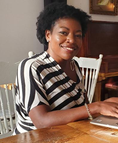 Jolette Côté, porteuse du projet Couleurs d'enfants, lauréat de l'Incubateur civique de la MIS