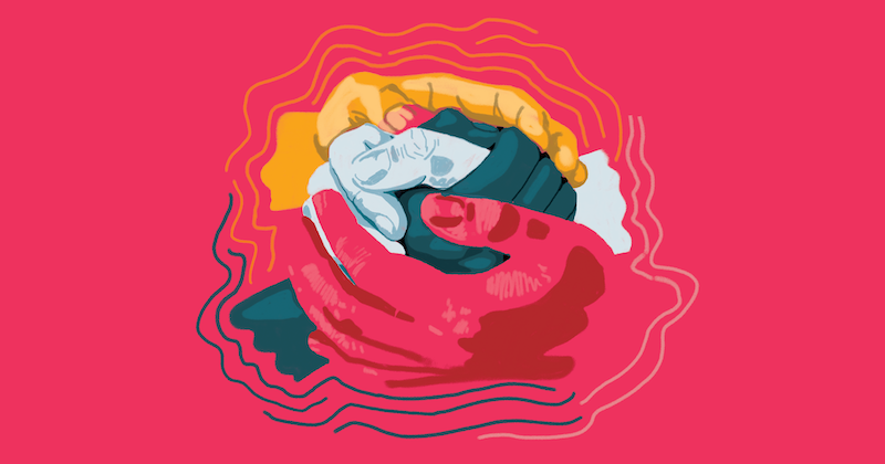 Raccords 7, l'illustration par Meky Ottawa