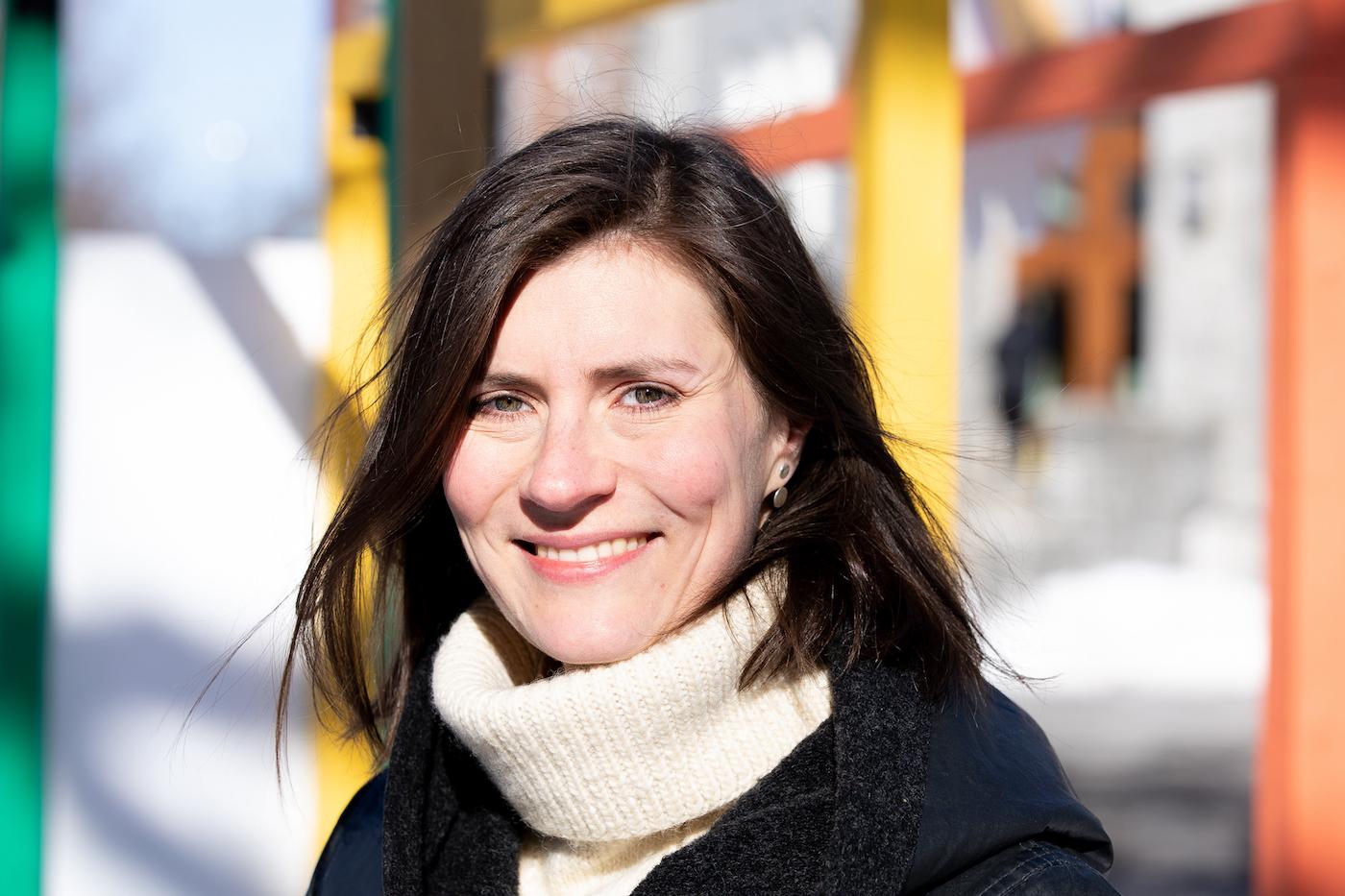 Daria Marchenko, porteuse du projet ECOist Club, lauréat de la cohorte de l'automne 2020 de l'Incubateur civique de la MIS